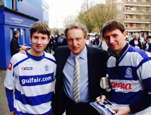 Neil Warnock Loftus Road March 2011
