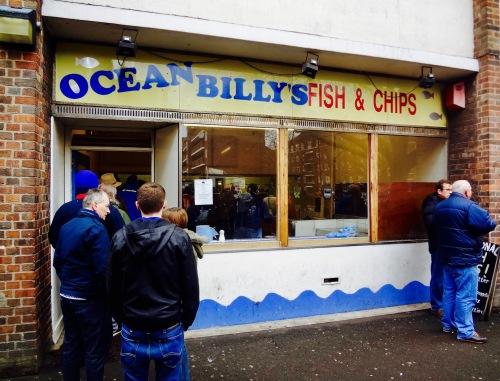 Ocean Billy's Fish and Chips South Africa Road London