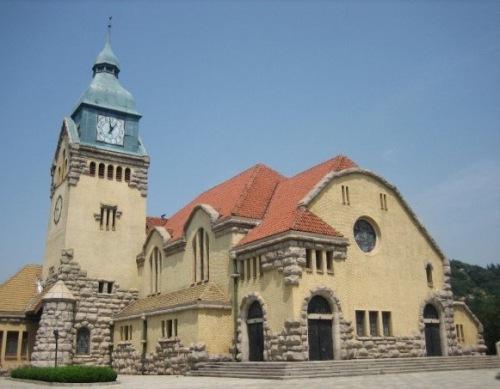 Qingdao Christian Church Shandong Province China