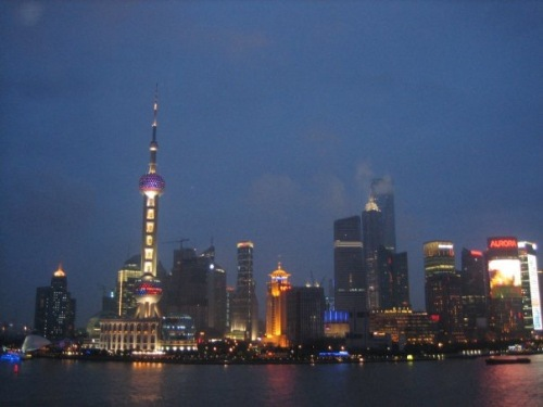 The Pudong Skyline Shanghai China