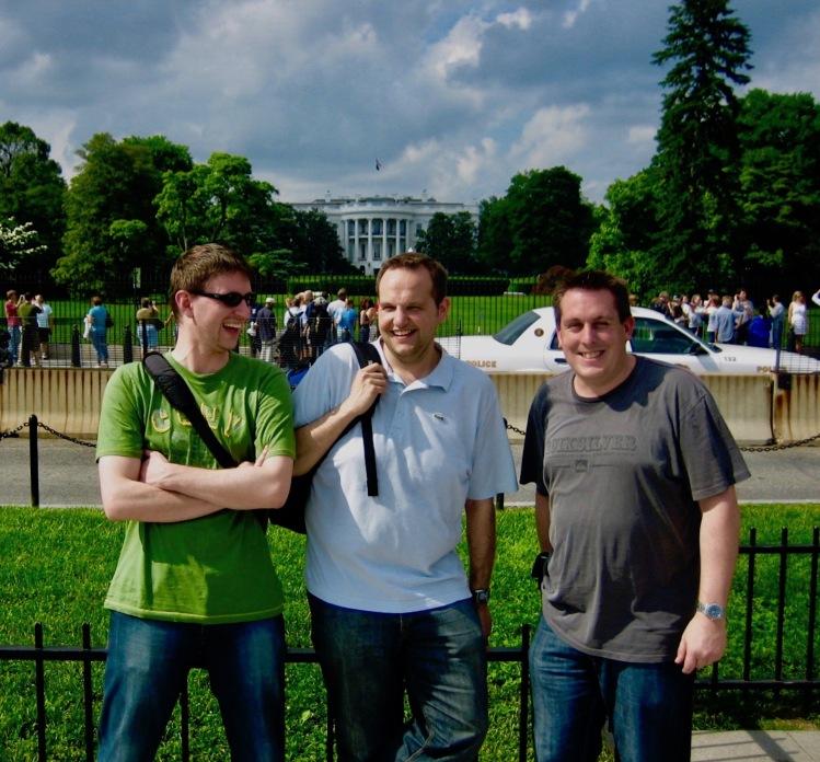 The White House South Lawn Washington DC