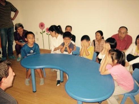 Training school demo class Shangdi Beijing