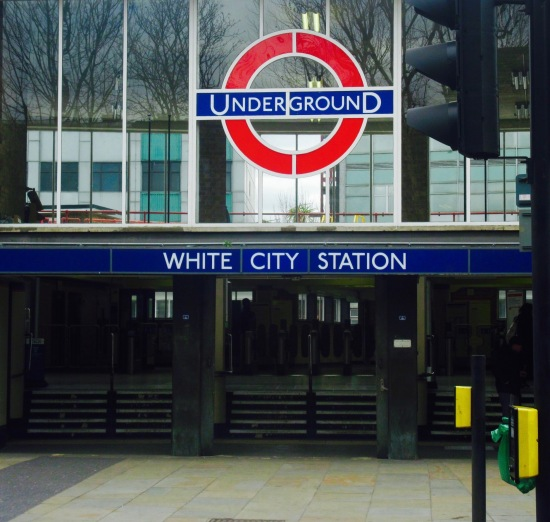 White City Tube Station Shepherd's Bush London Queens Park Rangers