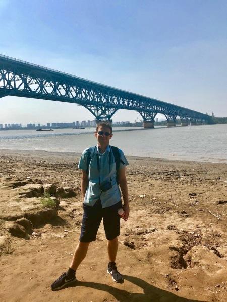 Yangtze River Bridge Park Nanjing China