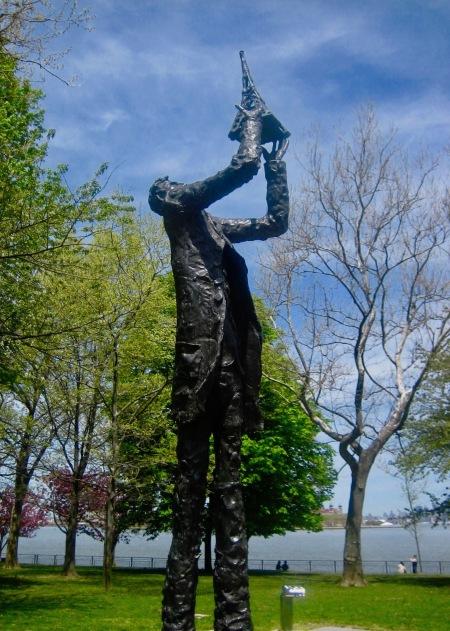 Alexandre Gustave Eiffel Statue Liberty Island New York City