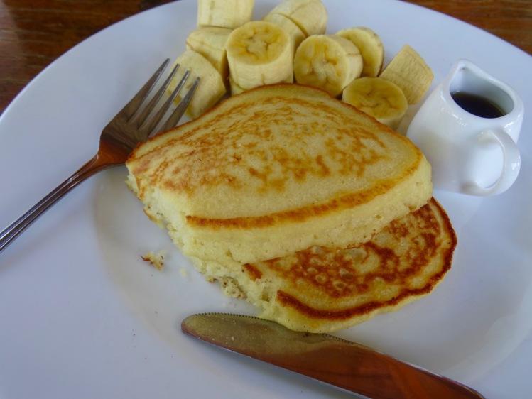 Banana pancakes Coconut Beach Restaurant Koh Rong Cambodia