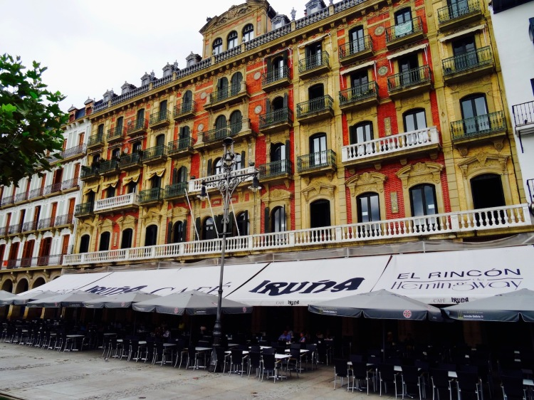 Cafe Iruna Plaza del Castillo Pamplona Spain