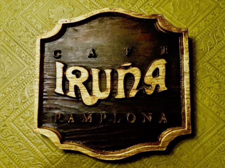 Cafe Iruna Plaza del Castillo Pamplona Spain