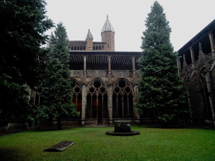 Cloister Pamplona Cathedral Santa Maria Cathedral