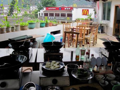 Cloud 9 Restaurant and Cooking School Yangshuo Guangxi China