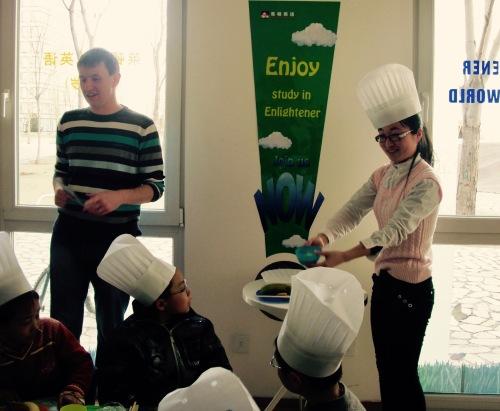 English Zone cooking class Shangdi Beijing