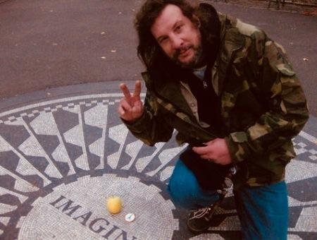 Gary dos Santos Imagine Mosaic Strawberry Fields Memorial New York City