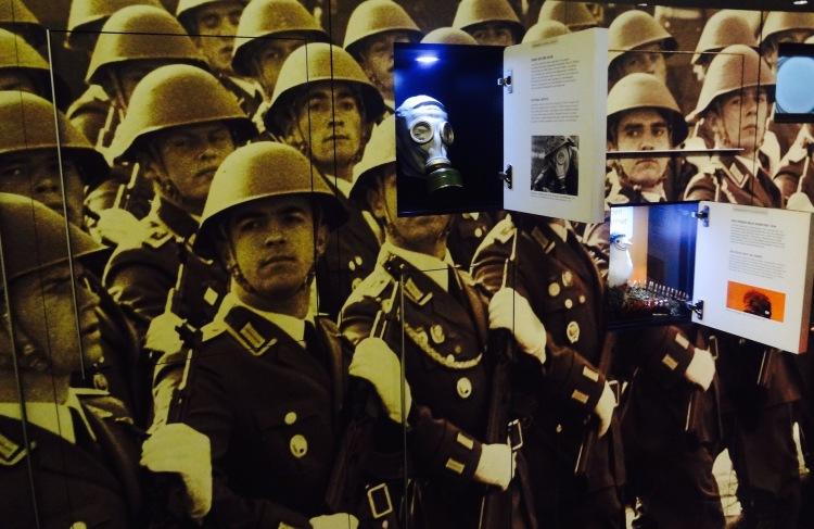 GDR Army Exhibit DDR Museum Berlin