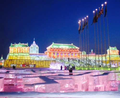 Harbin Ice and Snow Sculpture Festival Harbin China