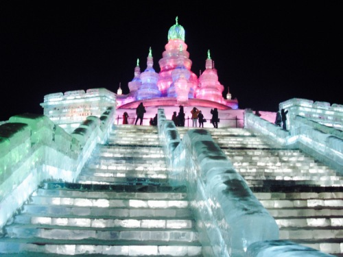 Harbin Ice and Snow Sculpture Festival Heilongjiang Province China