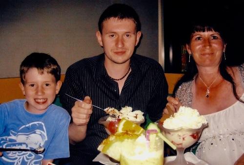 Ice cream Hotel Professor Leuven Belgium 2006
