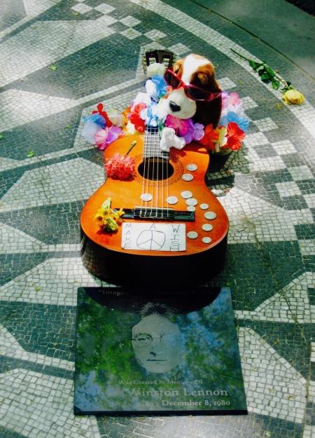 Imagine Mosaic Strawberry Fields Memorial Central Park New York City