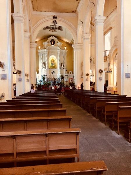 Interior St. Dominic's Church Macau China