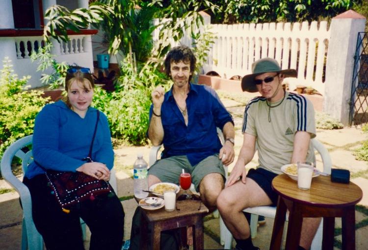 Jolly Jolly Roma Guesthouse Vagator Goa India April 2004