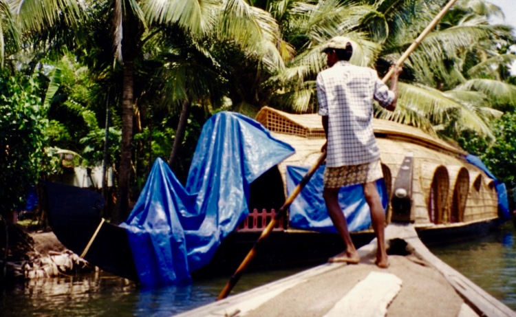 Kerala backwaters cruise India