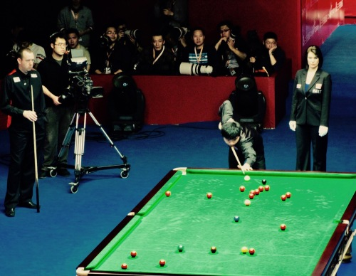 Mark Williams and Ding Jinhui China Open Snooker Championship Final Beijing April 2010