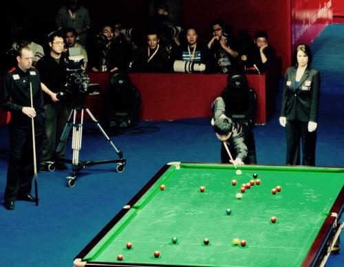 Mark Williams and Ding Jinhui China Open Snooker Championship Final Beijing April 2010
