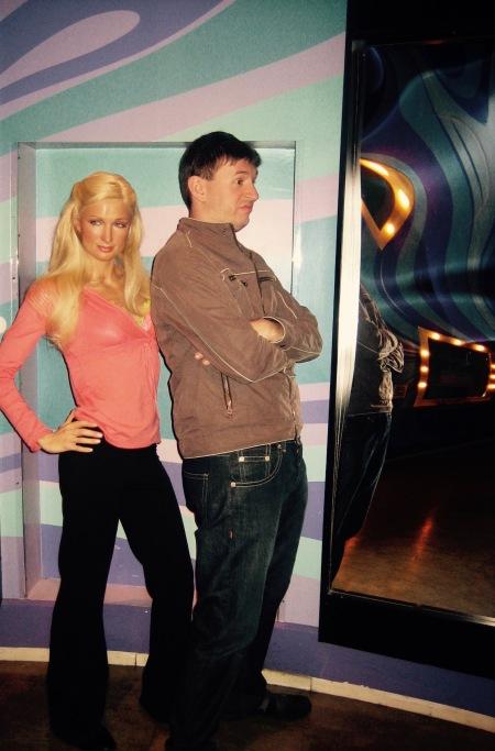 Paris Hilton Madame Tussaud's New York City