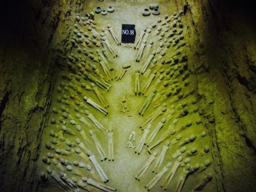Pit 18 Tomb of Emperor Jingdi Xian Shaanxi Province China