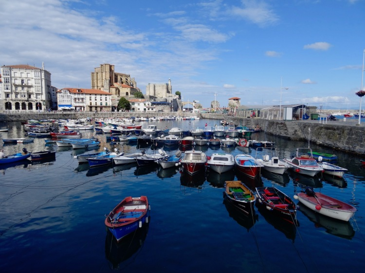 Port of Castro Urdiales Spain