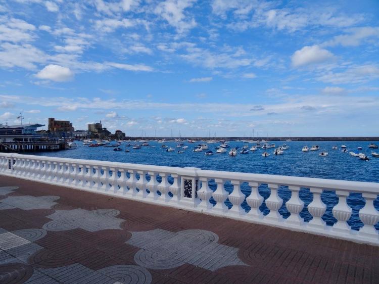 Promenade Castro Urdiales Spain