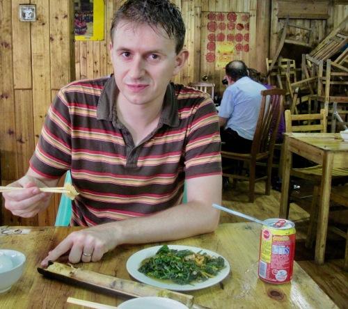 Restaurant Ping'an Village Dragon's Backbone Rice Terrace Guangxi China