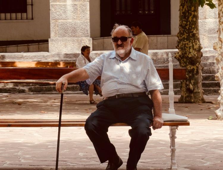 Sittin' Doin' Nothin' Castro Urdiales Spain