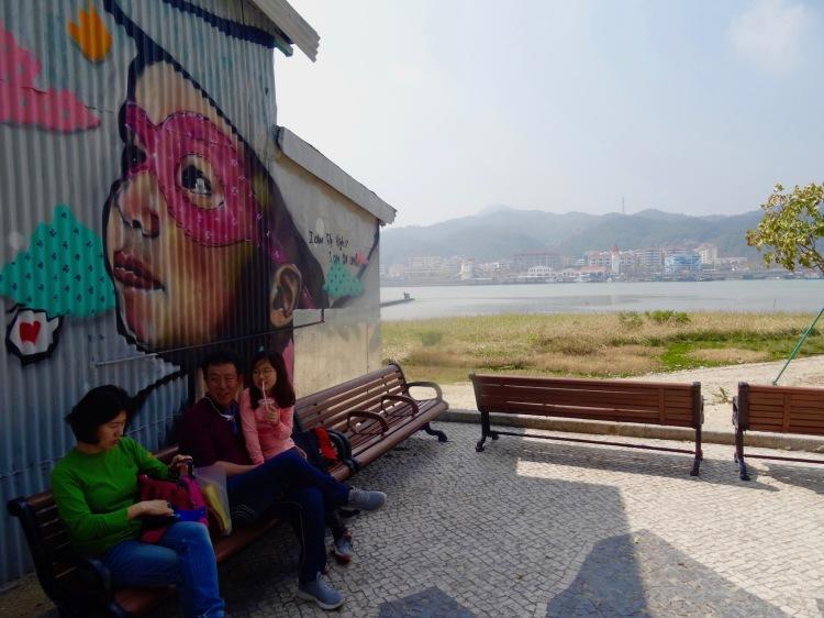 Street art Coloane Village Macau