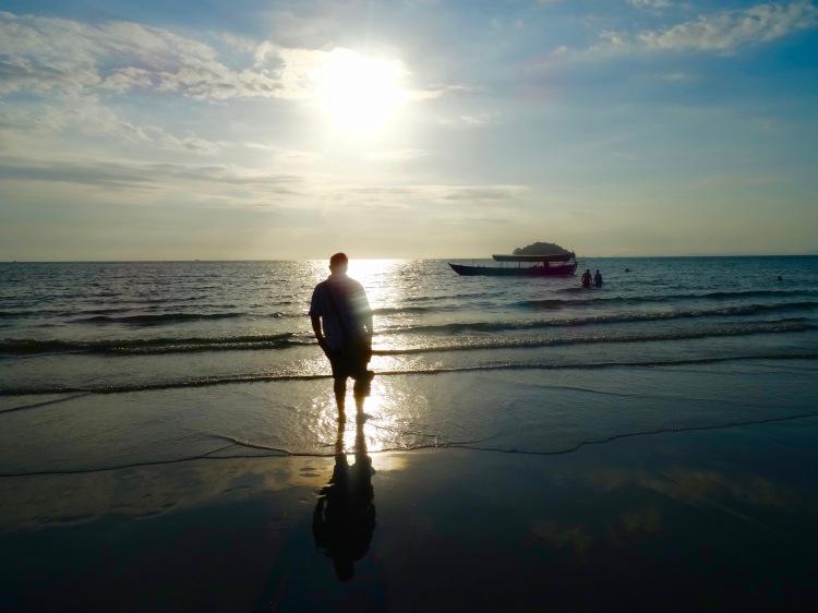 Sunset Otres Beach 1 Sihanoukville Cambodia