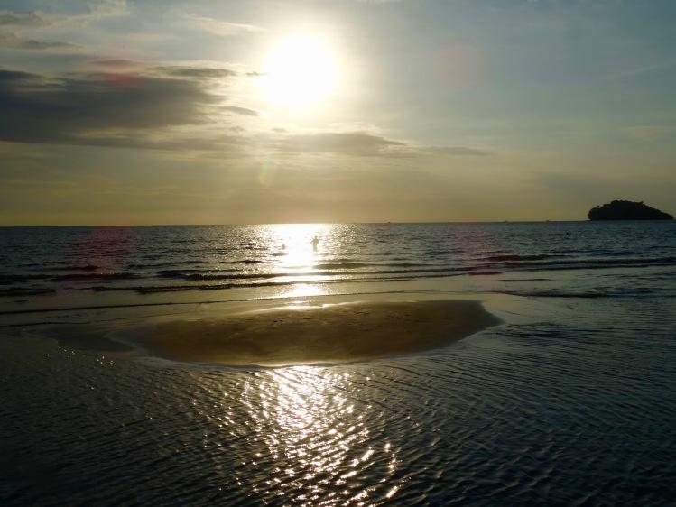 Sunset Otres Beach 2 Sihanoukville Cambodia