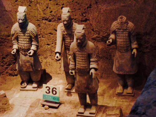 Terracotta Warriors Xian China Pit 2 Mausoleum of the First Qin Emperor
