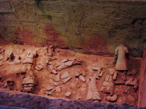 Terracotta Warriors Xian China Pit 3 Mausoleum of the First Qin Emperor