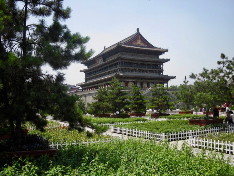 The Drum Tower Xian Things to see and do in Xian Shaanxi Province China