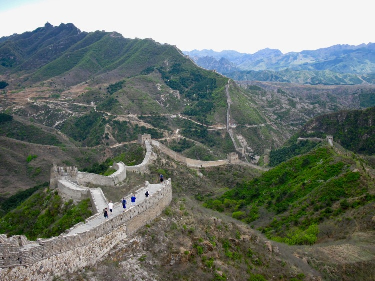 The Great Wall of China Jinshanling to Simatai