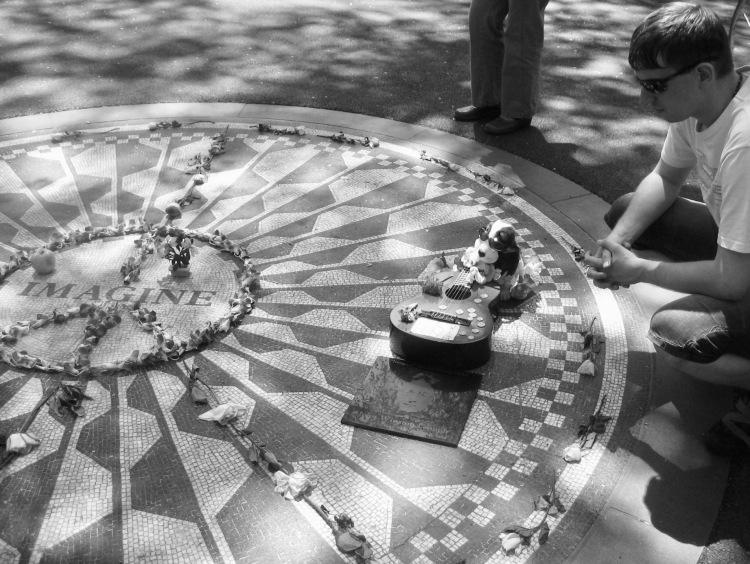 The Imagine Mosaic Strawberry Fields Memorial New York City