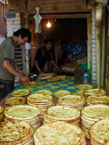 The Muslim Quarter Xian Shaanxi Province China