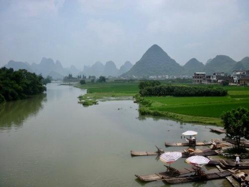 Xiatang Village Yangshuo County Guangxi China