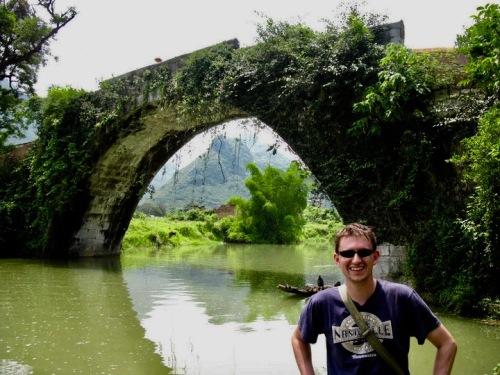 Yulong Bridge Yangshuo County Guangxi China