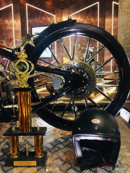 Chop Deville Deluxe Retro Racer Vintage Indian Motorcycle Street Steel Heavy Metal Bike Gallery Macau