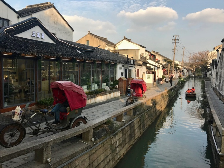 Daliuzhi Lane off Pingjian Road Suzhou China