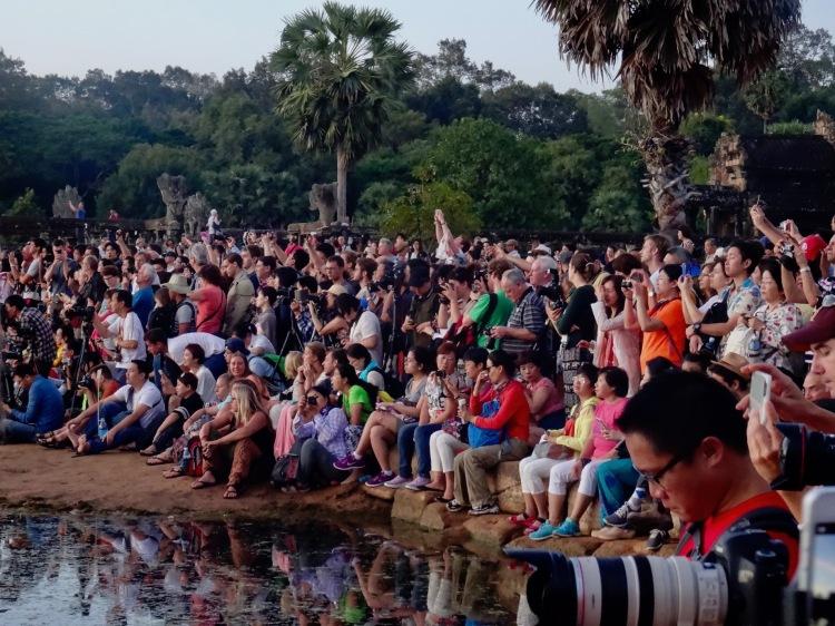 Dawn at Angkor Wat Siem Reap Cambodia