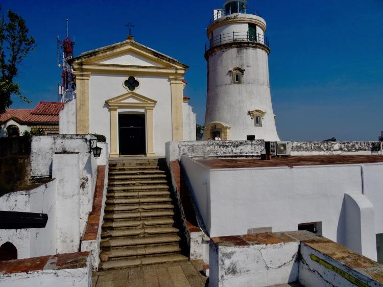 Guia Hill Fortress Lighthouse and Chapel Macau