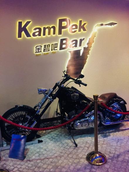 Harley Davidson Chopper Street Steel Heavy Metal Bike Gallery, Macau