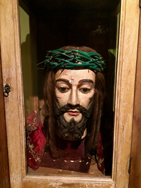 Jesus head Sacred Art Museum St. Dominic's Church Macau