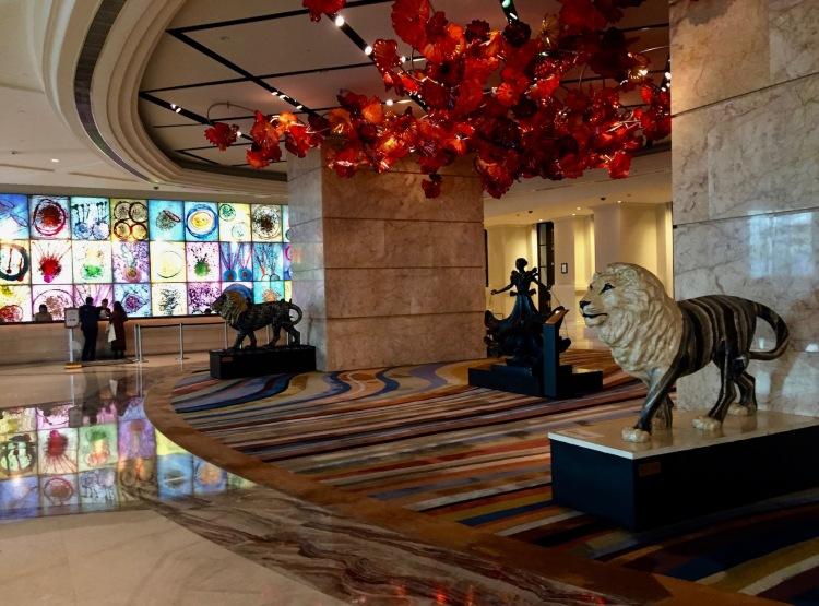 Lobby MGM Macau Hotel and Casino